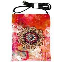 Mandala Art Design Pattern Ethnic Shoulder Sling Bags