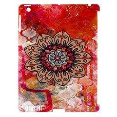 Mandala Art Design Pattern Ethnic Apple Ipad 3/4 Hardshell Case (compatible With Smart Cover)