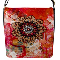 Mandala Art Design Pattern Ethnic Flap Messenger Bag (s)
