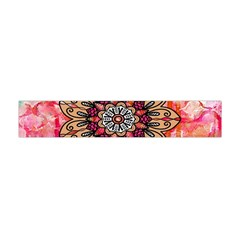 Mandala Art Design Pattern Ethnic Flano Scarf (mini)