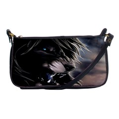 Angry Lion Digital Art Hd Shoulder Clutch Bags