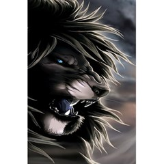 Angry Lion Digital Art Hd 5 5  X 8 5  Notebooks