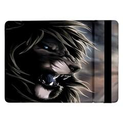 Angry Lion Digital Art Hd Samsung Galaxy Tab Pro 12 2  Flip Case
