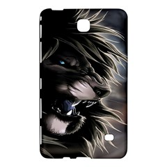 Angry Lion Digital Art Hd Samsung Galaxy Tab 4 (7 ) Hardshell Case