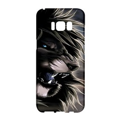 Angry Lion Digital Art Hd Samsung Galaxy S8 Hardshell Case