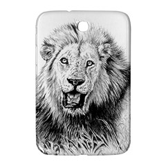 Lion Wildlife Art And Illustration Pencil Samsung Galaxy Note 8 0 N5100 Hardshell Case