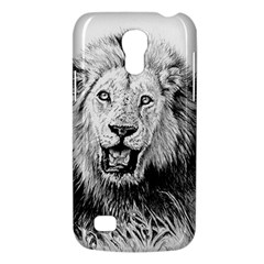 Lion Wildlife Art And Illustration Pencil Galaxy S4 Mini