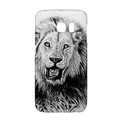 Lion Wildlife Art And Illustration Pencil Galaxy S6 Edge