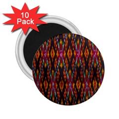 Thai Silk 2 25  Magnets (10 Pack)