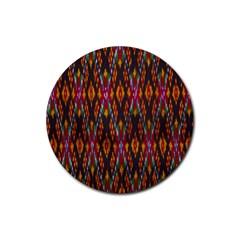 Thai Silk Rubber Coaster (round)