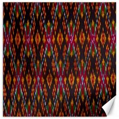 Thai Silk Canvas 12  X 12