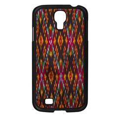 Thai Silk Samsung Galaxy S4 I9500/ I9505 Case (black)