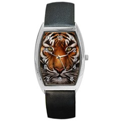 The Tiger Face Barrel Style Metal Watch