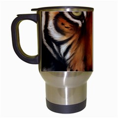 The Tiger Face Travel Mugs (white)