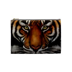 The Tiger Face Cosmetic Bag (medium)