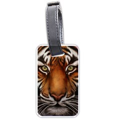 The Tiger Face Luggage Tags (two Sides)