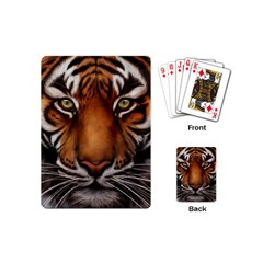 The Tiger Face Playing Cards (mini)