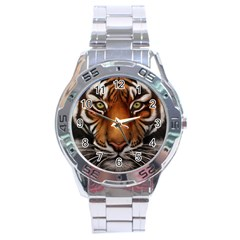 The Tiger Face Stainless Steel Analogue Watch