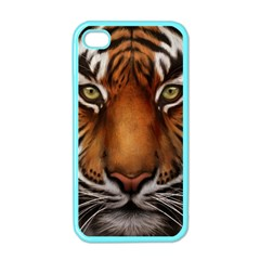 The Tiger Face Apple Iphone 4 Case (color)