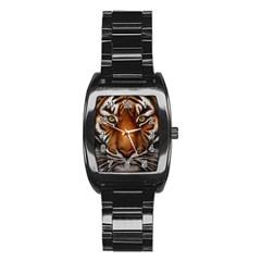 The Tiger Face Stainless Steel Barrel Watch