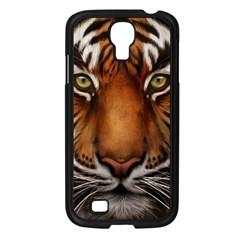 The Tiger Face Samsung Galaxy S4 I9500/ I9505 Case (black)