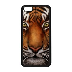 The Tiger Face Apple Iphone 5c Seamless Case (black)