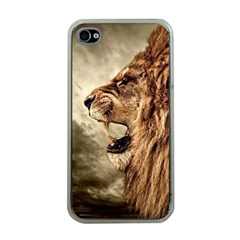Roaring Lion Apple Iphone 4 Case (clear)