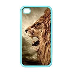 Roaring Lion Apple Iphone 4 Case (color)