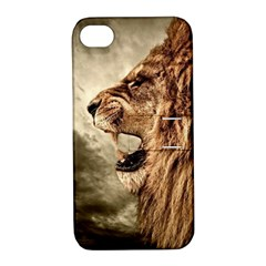 Roaring Lion Apple Iphone 4/4s Hardshell Case With Stand