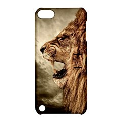 Roaring Lion Apple Ipod Touch 5 Hardshell Case With Stand