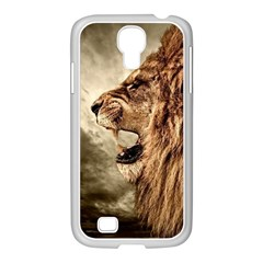 Roaring Lion Samsung Galaxy S4 I9500/ I9505 Case (white)