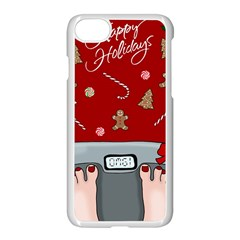 Hilarious Holidays  Apple Iphone 8 Seamless Case (white)