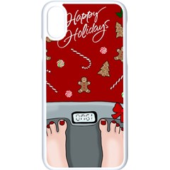 Hilarious Holidays  Apple Iphone X Seamless Case (white)
