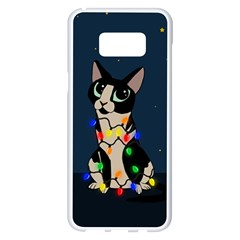 Meowy Christmas Samsung Galaxy S8 Plus White Seamless Case