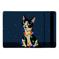 Meowy Christmas Apple Ipad Pro 10 5   Flip Case