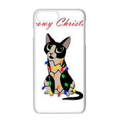 Meowy Christmas Apple Iphone 7 Plus Seamless Case (white)
