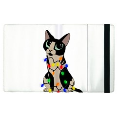 Meowy Christmas Apple Ipad Pro 12 9   Flip Case
