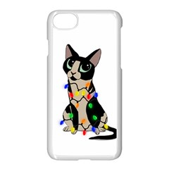 Meowy Christmas Apple Iphone 8 Seamless Case (white)