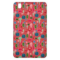 Vintage Christmas Hand Painted Ornaments In Multi Colors On Rose Samsung Galaxy Tab Pro 8 4 Hardshell Case