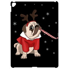 Pug Xmas Apple Ipad Pro 12 9   Hardshell Case