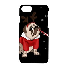 Pug Xmas Apple Iphone 7 Hardshell Case