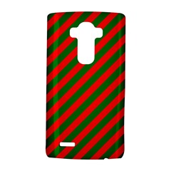 Red And Green Christmas Candycane Stripes Lg G4 Hardshell Case