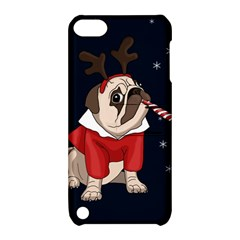 Pug Xmas Apple Ipod Touch 5 Hardshell Case With Stand