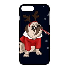 Pug Xmas Apple Iphone 7 Plus Hardshell Case