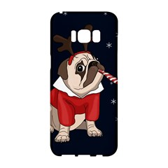 Pug Xmas Samsung Galaxy S8 Hardshell Case