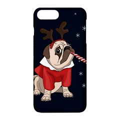 Pug Xmas Apple Iphone 8 Plus Hardshell Case
