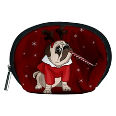 Pug Xmas Accessory Pouches (medium)