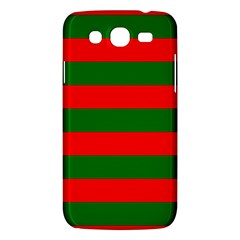 Red And Green Christmas Cabana Stripes Samsung Galaxy Mega 5 8 I9152 Hardshell Case