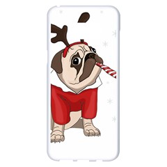 Pug Xmas Samsung Galaxy S8 Plus White Seamless Case