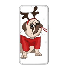 Pug Xmas Apple Iphone 8 Plus Seamless Case (white)